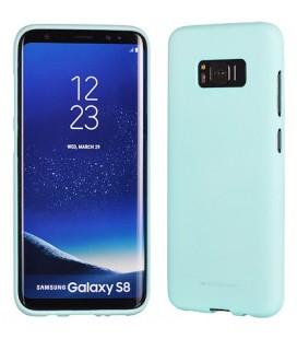 """Mėtos spalvos silikoninis dėklas Samsung Galaxy S8 Plus telefonui """"Mercury Soft Feeling"""""""