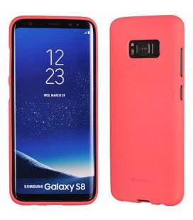 """Rožinis silikoninis dėklas Samsung Galaxy S8 Plus telefonui """"Mercury Soft Feeling"""""""