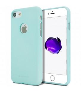 """Mėtos spalvos silikoninis dėklas Apple iPhone 7 telefonui """"Mercury Soft Feeling"""""""