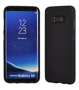 """Juodas silikoninis dėklas Samsung Galaxy S8 telefonui """"Mercury Soft Feeling"""""""