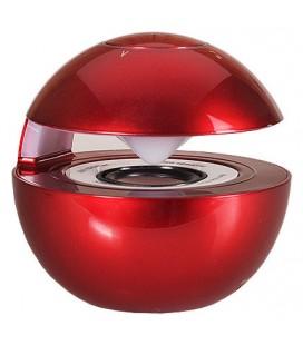 """Raudona Bluetooth nešiojama garso kolonėlė """"LED Ball"""""""