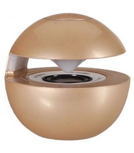 """Auksinės spalvos Bluetooth nešiojama garso kolonėlė """"LED Ball"""""""