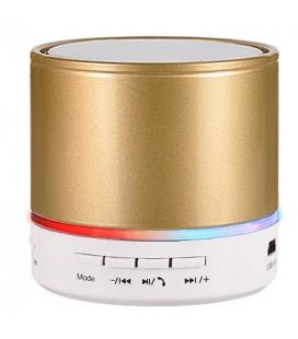 """Auksinės spalvos mini Bluetooth nešiojama garso kolonėlė """"S08"""""""