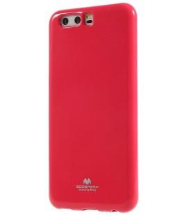 """Rožinis silikoninis dėklas Huawei P10 telefonui """"Mercury Goospery Pearl Jelly Case"""""""