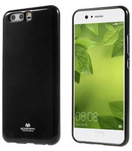 """Juodas silikoninis dėklas Huawei P10 telefonui """"Mercury Goospery Pearl Jelly Case"""""""