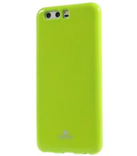 """Žalias silikoninis dėklas Huawei P10 telefonui """"Mercury Goospery Pearl Jelly Case"""""""