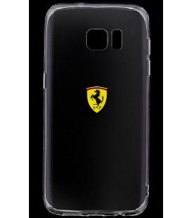 """Skaidrus silikoninis dėklas Samsung Galaxy S7 telefonui """"Ferrari"""""""