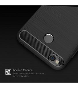 "Juodas dėklas Samsung Galaxy A3 2017 telefonui ""Spigen Liquid Air"""