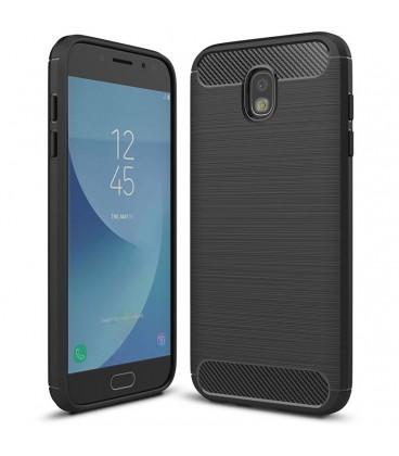 """Juodas dėklas Samsung Galaxy J5 2017 J530 telefonui """"Tech-Protect"""""""