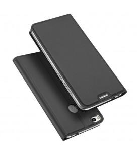"""Pilkas atverčiamas dėklas Huawei P10 telefonui """"Dux Ducis Skin"""""""