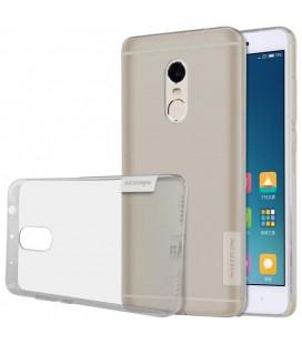 """Pilkas silikoninis dėklas Xiaomi Redmi Note 4 telefonui """"Nillkin Nature"""""""
