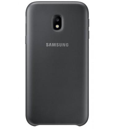 """Originalus juodas dėklas """"Dual-layer Protection"""" Samsung Galaxy J3 2017 telefonui ef-pj330cbe"""