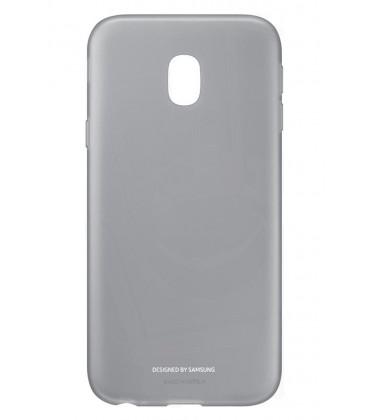 """Originalus juodas dėklas """"Soft and Light"""" Samsung Galaxy J3 2017 telefonui ef-aj330tbe"""