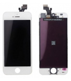 Apple iPhone 5 LCD ekranas (baltas) AAA+