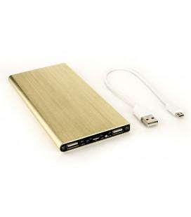 """Auksinės spalvos išorinė baterija 20000mAh PowerBank """"UltraThin"""""""