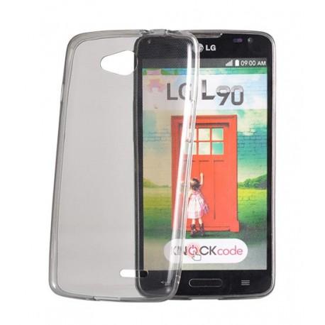 Juodas plonas 0,3mm silikoninis dėklas Sony Xperia Z2 telefonui
