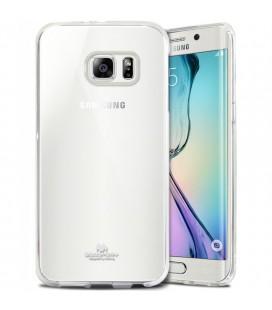 """Skaidrus dėklas Mercury Goospery """"Jelly Case"""" Samsung Galaxy S6 Edge G925 telefonui"""
