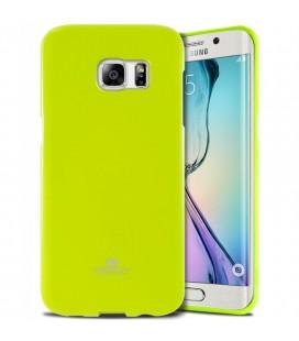 """Žalias dėklas Mercury Goospery """"Jelly Case"""" Samsung Galaxy S6 Edge telefonui"""