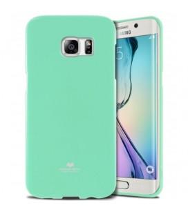 """Mėtos spalvos dėklas Mercury Goospery """"Jelly Case"""" Samsung Galaxy S6 Edge G925 telefonui"""