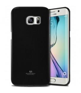 """Juodas dėklas Mercury Goospery """"Jelly Case"""" Samsung Galaxy S6 Edge telefonui"""