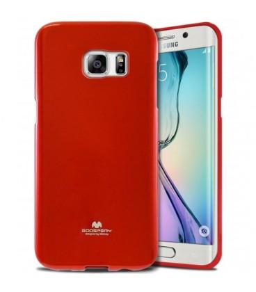 """Rauonas dėklas Mercury Goospery """"Jelly Case"""" Samsung Galaxy S6 Edge G925 telefonui"""