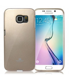 """Auksinės spalvos dėklas Mercury Goospery """"Jelly Case"""" Samsung Galaxy S6 telefonui"""