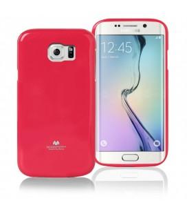 """Rožinis dėklas Mercury Goospery """"Jelly Case"""" Samsung Galaxy S6 G920 telefonui"""