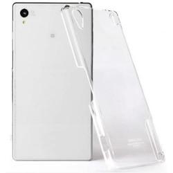Skaidrus plonas 0,3mm silikoninis dėklas Sony Xperia Z2 telefonui