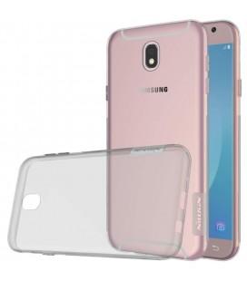 """Pilkas silikoninis dėklas Samsung Galaxy J5 2017 telefonui """"Nillkin Nature"""""""