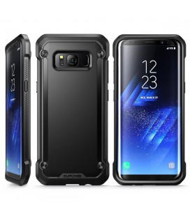 """Skaidrus silikoninis """"Fitty Double"""" Samsung Galaxy S8 G950 dėklas"""
