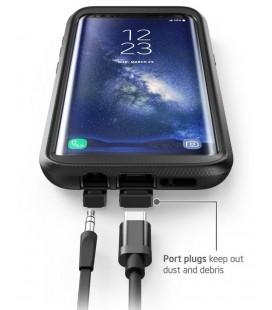 Sidabrinės spalvos Apple iPhone 7/7 Plus audio adapteris 2in1