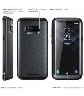 """Skaidrus silikoninis dėklas Huawei P10 telefonui """"Fitty Double"""""""