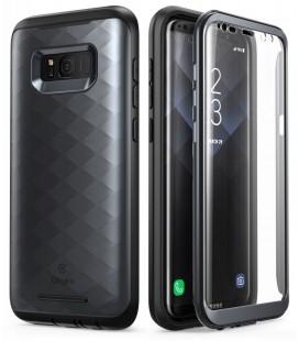 """Juodas dėklas Samsung Galaxy S8 Plus telefonui """"Supcase Clayco Hera"""""""