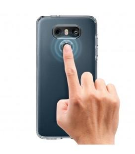 """Permatomas juodos spalvos """"Kisswill"""" Samsung Galaxy S8 Plus  silikoninis dėklas"""
