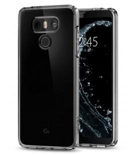 "Skaidrus dėklas LG G6 telefonui ""Spigen Ultra Hybrid"""