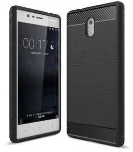 """Juodas dėklas Nokia 3 telefonui """"Tech-Protect"""""""