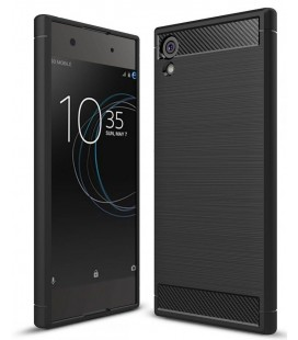 "Juodas dėklas Sony Xperia XA1 telefonui ""Tech-Protect"""