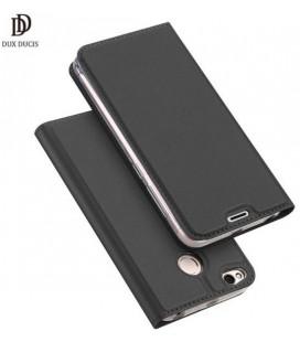 """Juodas atverčiamas dėklas Xiaomi Redmi 4X telefonui """"Dux Ducis Skin"""""""