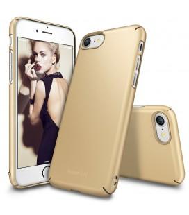 """Auksinės spalvos dėklas Apple iPhone 7/8 telefonui """"Ringke Slim"""""""