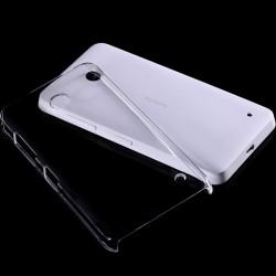 Skaidrus plonas 0,3mm silikoninis dėklas Nokia Lumia 630/635 telefonui