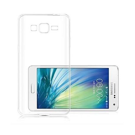 Skaidrus plonas 0,3mm silikoninis dėklas Samsung Galaxy A3 A300 telefonui