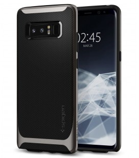 "Pilkas dėklas Samsung Galaxy Note 8 telefonui ""Spigen Neo Hybrid"""