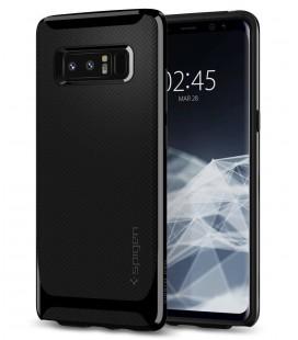 "Blizgus juodas dėklas Samsung Galaxy Note 8 telefonui ""Spigen Neo Hybrid"""
