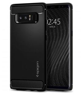"""Juodas dėklas Samsung Galaxy Note 8 telefonui """"Spigen Rugged Armor"""""""