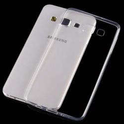 Skaidrus plonas 0,3mm silikoninis dėklas Samsung Galaxy A7 A700 telefonui