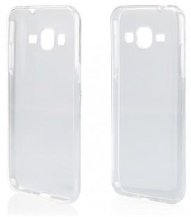 """Skaidrus silikoninis dėklas Samsung Galaxy J3 2016 telefonui """"Clear"""""""