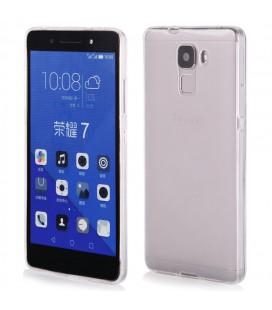 """Skaidrus silikoninis dėklas Huawei Honor 7 telefonui """"Clear"""""""