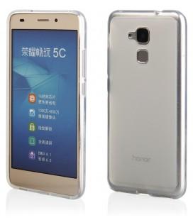 """Skaidrus silikoninis dėklas Huawei Honor 7 Lite telefonui """"Clear"""""""