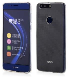 """Skaidrus silikoninis dėklas Huawei Honor 8 telefonui """"Clear"""""""