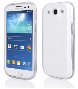 """Skaidrus silikoninis dėklas Samsung Galaxy S3/S3 Neo telefonui """"Clear"""""""